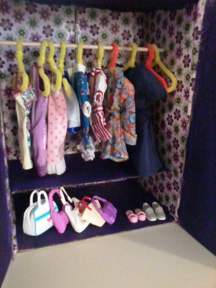 "18"" Doll Closet - Project"