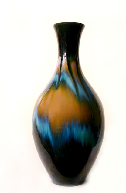 Aurora Borelis Vase (1965) by CCC Pottery - Dennis Tupy