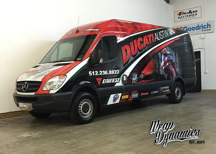 Nice custom printed commercial wrap by Wrap Dynamics. Materials used: 3M IJ180Cv3 & 8518. http://ow.ly/KyuZq