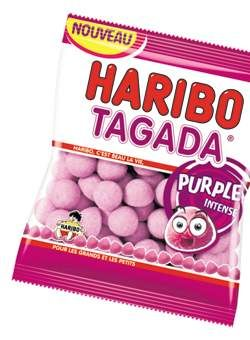 Haribo Tagada Purple intense