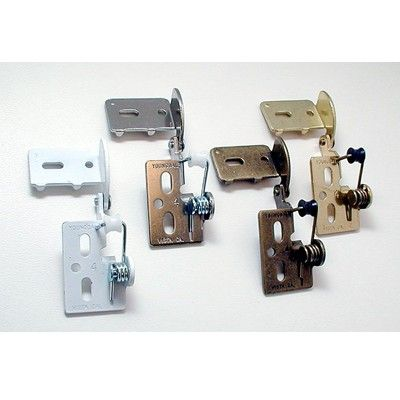 """Youngdale 3/8"""" Inset Semi-Concealed Hinges - Woodworker's Hardware"""