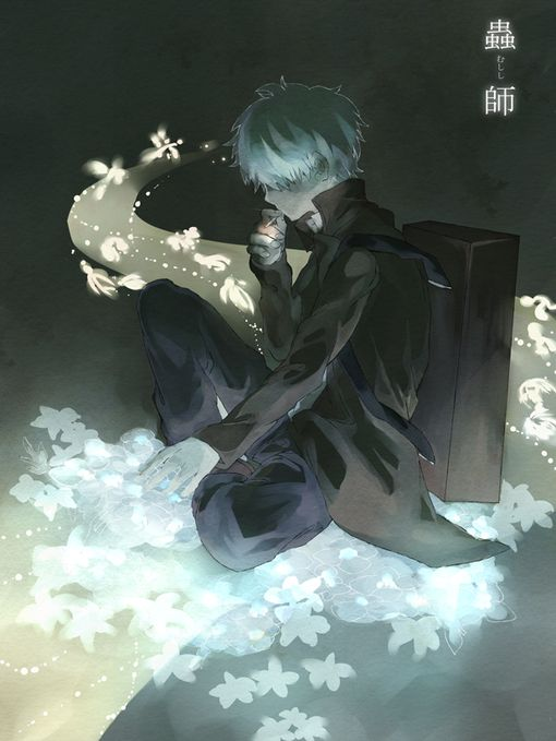 Mushi-shi, the most beautiful anime ever