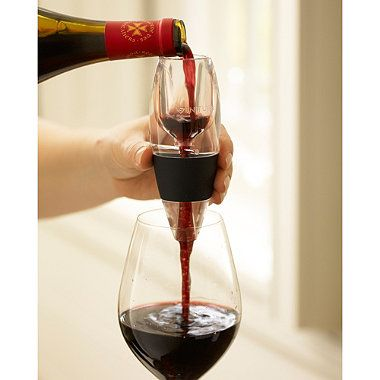 Vinturi red wine aerator allows wine to breathe instantly #drink #wine    need one!