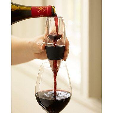 Vinturi red wine aerator allows wine to breathe instantly #drink #wine