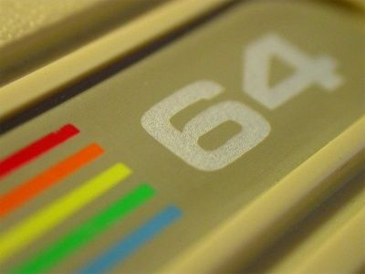 Commodore 64 Computer, 1982, Close-Up
