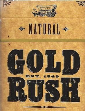 """This is a Sign for """"The Gold Rush in California""""  The Gold Rush is an important milestone to our American History."""