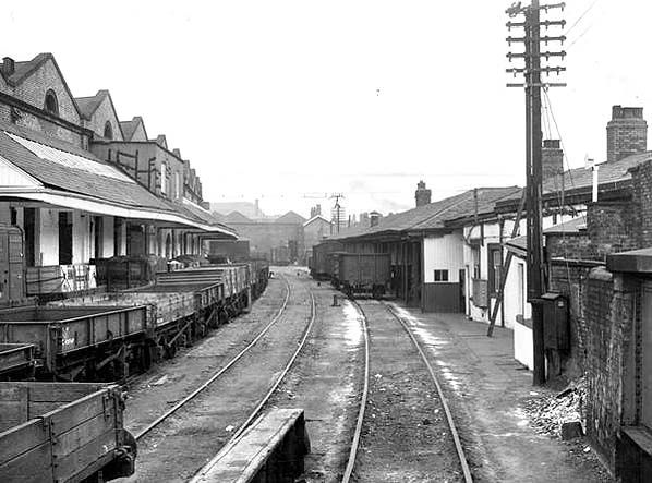 Liverpool Road Station in 1955.