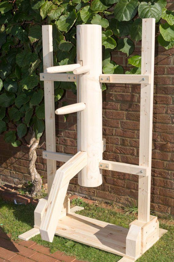 Wing Chun  wooden dummy wooden dummy by HolzpuppenManufaktur