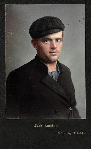 Jack London, 1902, colorized    Olga   Flickr