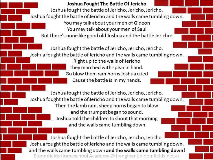 joshua was chosen coloring page - the conquest of jericho joshua 2 6 joshua fought the