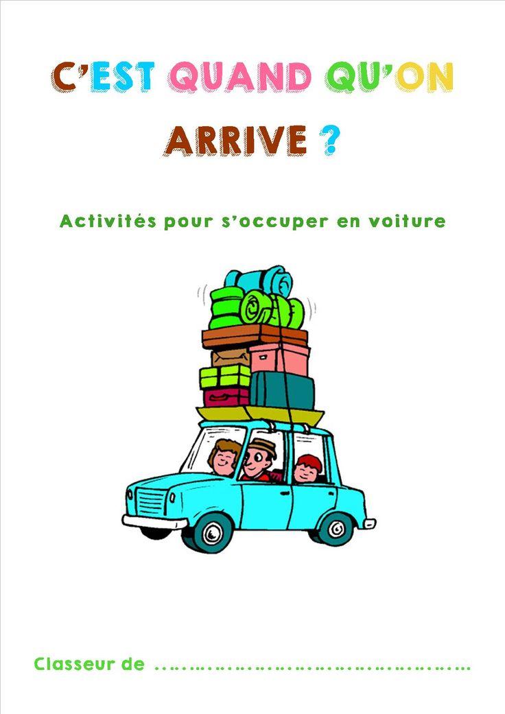 11 activités de voyage pour les enfants.