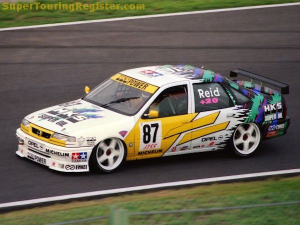 Anthony Reid Opel Vectra Gt Touring Car Racing Opel Vectra Indy Cars