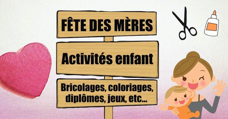 Voici toutes les activités fête des mères de Jeux et Compagnie : des activités manuelles et autres idées pour que les enfants célèbrent les mamans !