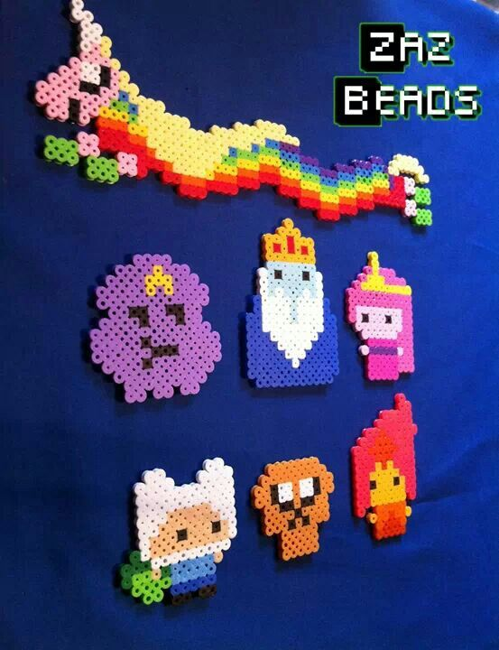 Hama/perler beads- adventure time