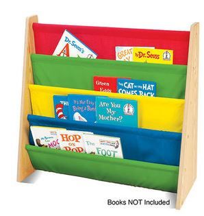 Tot Tutors Book Rack Organizer only $27.00!  This would be cute to make.