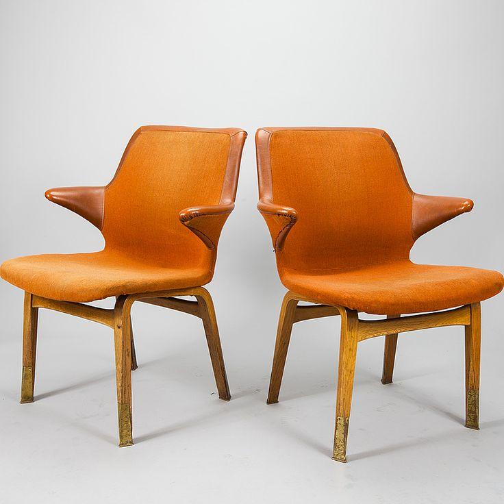 Lulu chairs by Ilmari Tapiovaara.