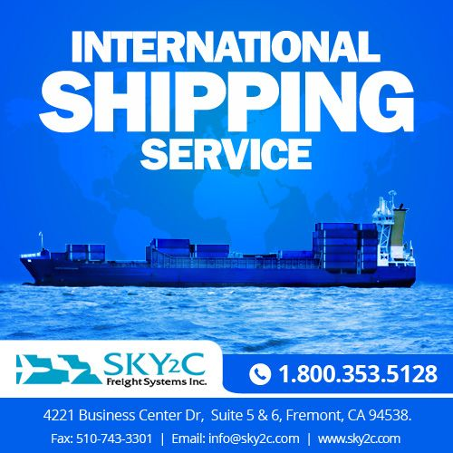 Sky2c International Shipping Company provides reliable and cost-effective #shipping solutions for your businesses. #ShippingCompanies #InternationalShipping