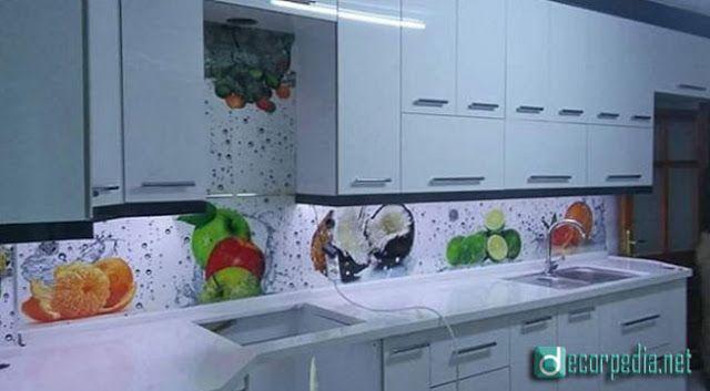 Modern 3d Glass Backsplash Panels For Modern Kitchens Backsplash