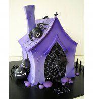 Gâteau d'Halloween : la maison hantée - Cosmopolitan.fr