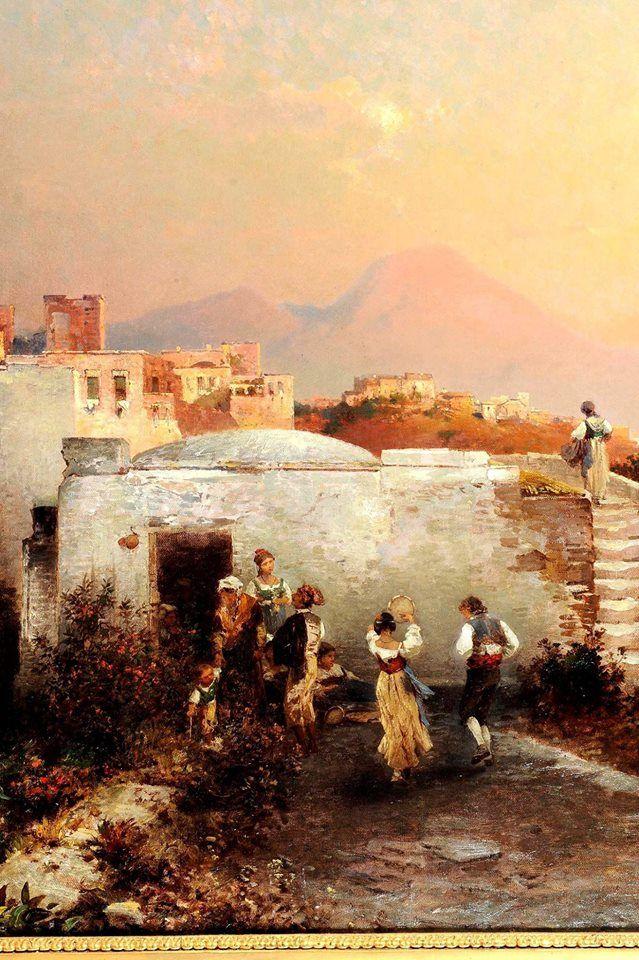 Franz Richard Unterberger: tarantella napoletana