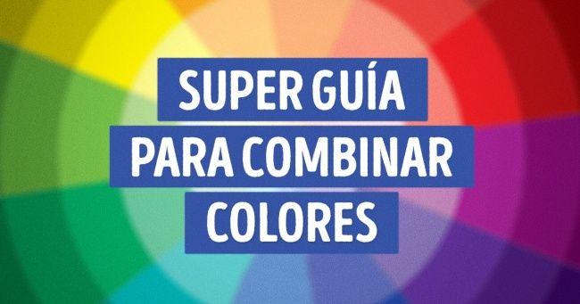 Super guía para combinar colores                              …