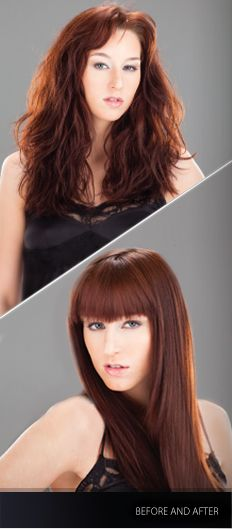 Silky, Smooth Straightness : #YUKO #Hair #Straightening