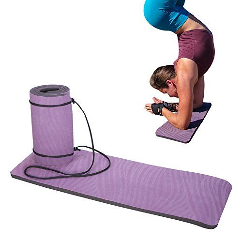 Yoga Paw Premium Yoga Pad - Cushioned Support Mat For Head