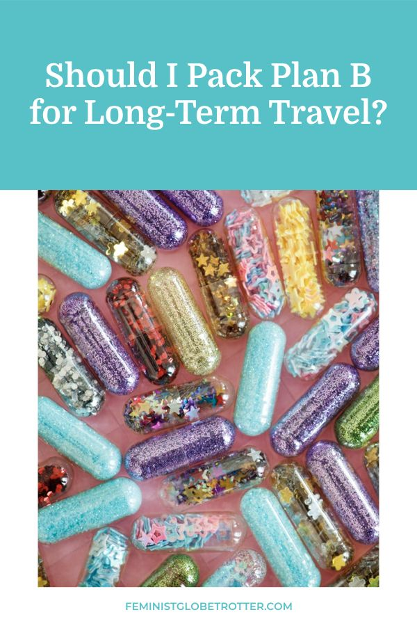 Taking Medication Abroad: Should I Pack Plan B? | Solo