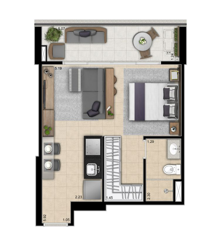 Studio apartment floor plans new york new york apartment for Best studio apartment design