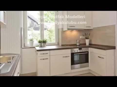 Küçük Mutfaklar için Mutfak Dolapları - YouTube