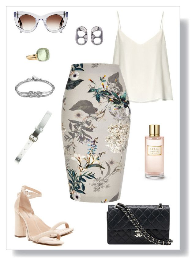 """""""№ 455"""" by tigrpuh ❤ liked on Polyvore featuring Call it SPRING, Raey, River Island, Chanel, John Hardy, Thierry Lasry, Marc Jacobs, Pomellato, Charlotte Russe and Estée Lauder"""