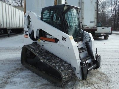 Mechanical, Bobcat Compact Track Loader T300 2011 Sn
