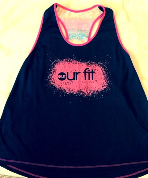 Our Fit Tigressa Singlet Top workout dance