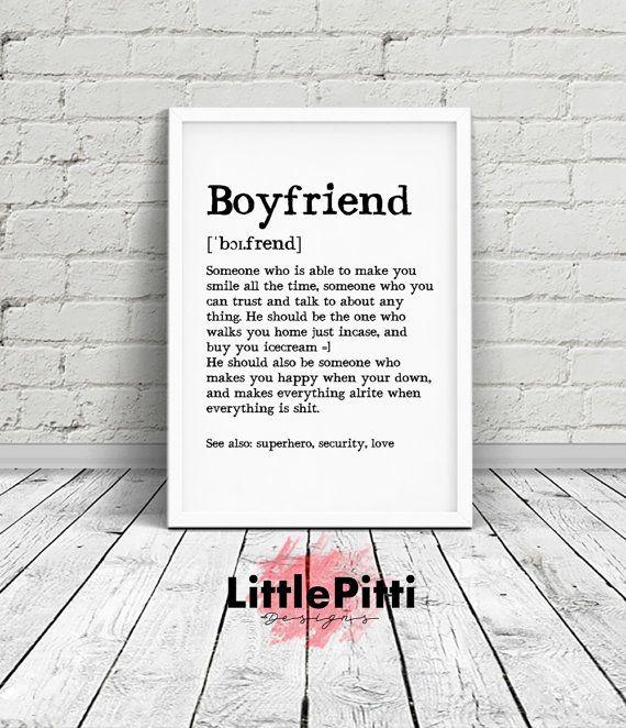 Boyfriend Gift Funny Birthday Art Card
