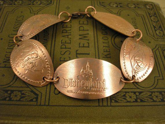 Disney smashed penny bracelet or necklace