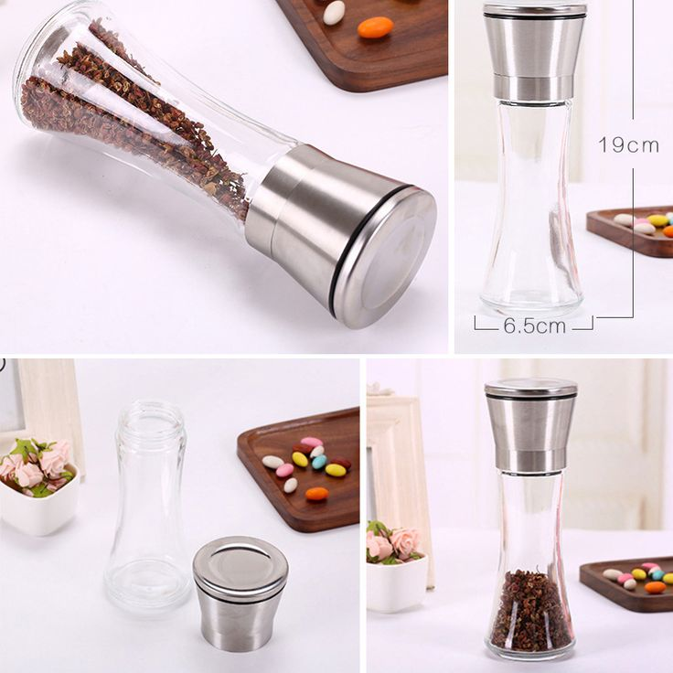 Milling machine Household kitchen supplies Kitchen Grinder 304 Stainless Steel Hand Pepper Grinder pepper grinding machine 10
