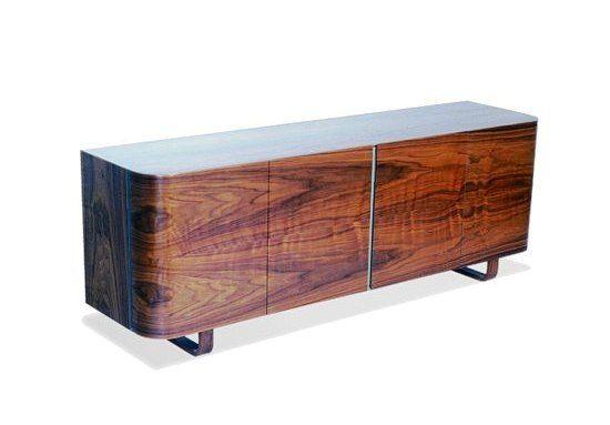 Wing 4-door sideboard | Isokon Plus (1999) designed by Michael Sodeau