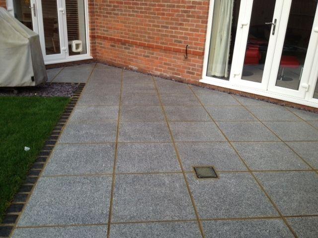 17 best images about garden patios galore on pinterest decorative aggregates garden paving - Slab pathway design ideas ...