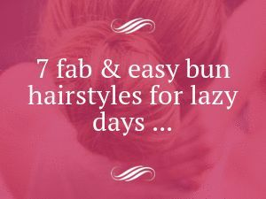 7. Messy Top Knot – 7 Fab & Easy Bun Hairstyles for Lazy Days … → Hair