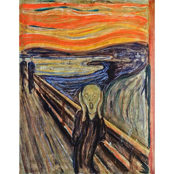 1000 id es propos de le cri edvard munch sur pinterest le cri munch edvard munch et. Black Bedroom Furniture Sets. Home Design Ideas