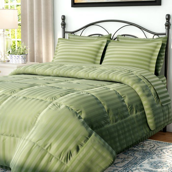 Haliburton 8 Piece Reversible Comforter Set Comforter