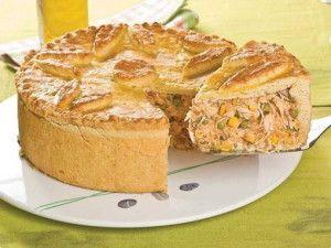 Simple and Easy Brazilian Chicken Pie (Torta de Frango) - Easy Brazilian Recipes