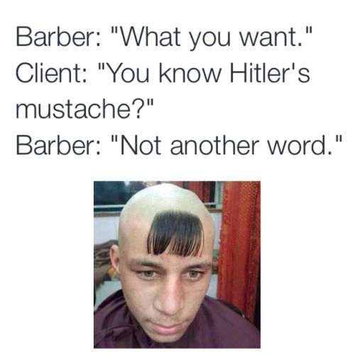 f022b6205ed5918047c34a8c38c1cd61 barber shop funny hair 46 best {barber memes} images on pinterest random humor, bad,Barber Memes