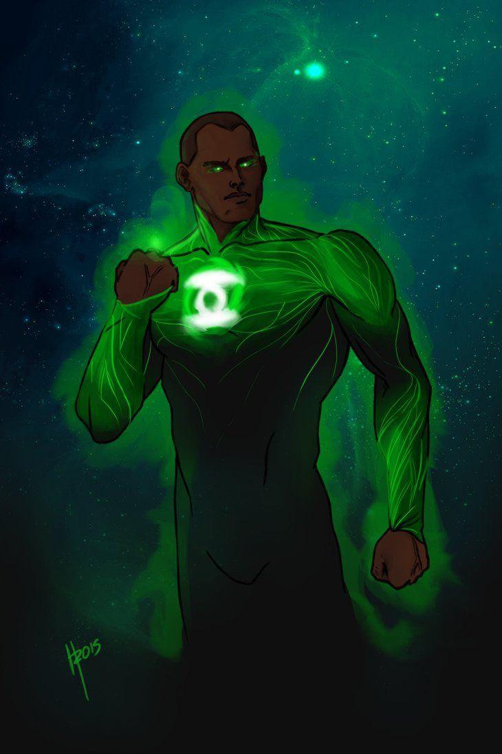 John Stewart, Green Lantern II by Heitor de Fraga