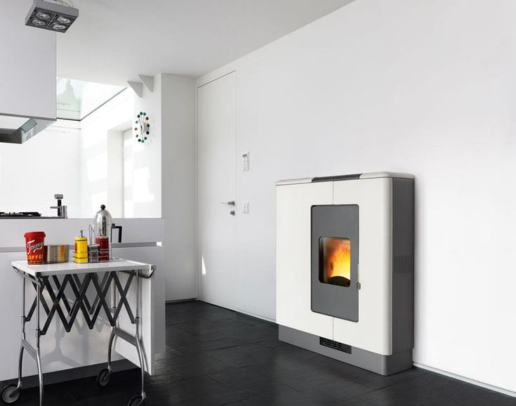 P936 Compact and flexibility of installation with choice of rear, side or top flue outlet for an appliance offering the pleasurable warmth of a fire even where space is at a premium.