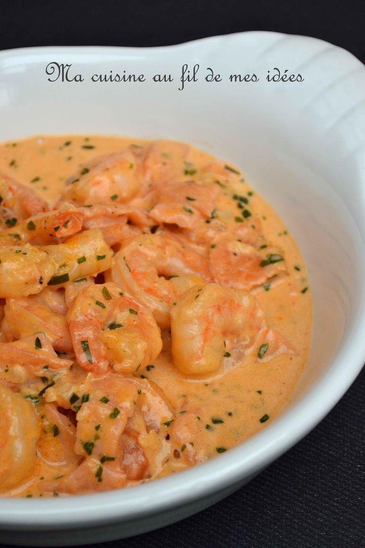 Voilà une de mes recettes préférée de scampis ! A déguster en entrée ou en accompagnement de pâtes ou de riz... un délice :-) P...
