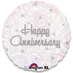 Happy Anniversary Balloon #floralgaragesg #decoration #parties #love #couple #weddingday #occasions #homedecor #lifestyle #lol #inspiration #roses #bookey #flowers #nature #happybirthday #birthday #prettiness #happyme #traveldiaries #Singapore #bouquets