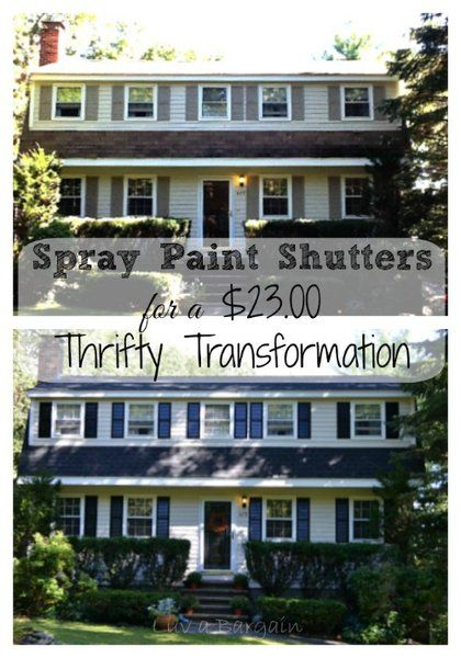 Paint shutters on pinterest shutters vinyl shutters and old