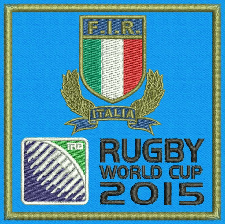 "Azzurri (Sky-Blues) Italy National Rugby Union Team Logo Embroidery Design  4""x4"" and 5""x7"" by StudioEmbroideryShop on Etsy https://www.etsy.com/listing/528152689/azzurri-sky-blues-italy-national-rugby"