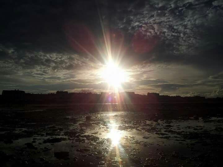 Soleil, la mer
